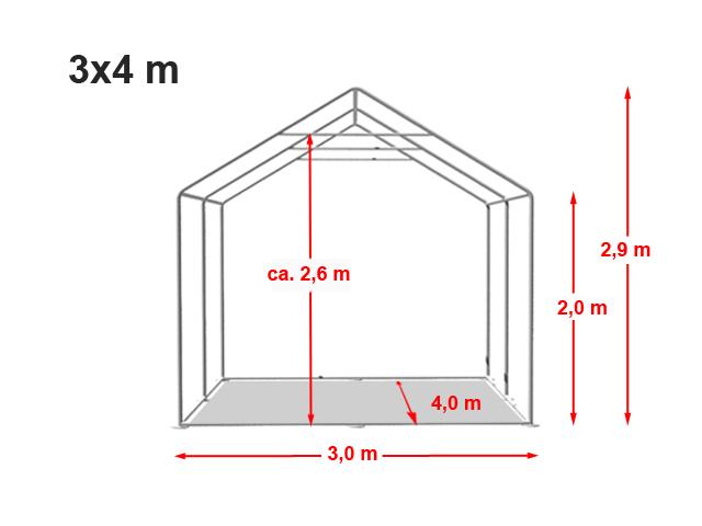 Párty stan Prémium 3x4m