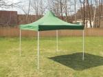 Nůžkový stánek 3x3m, zelený